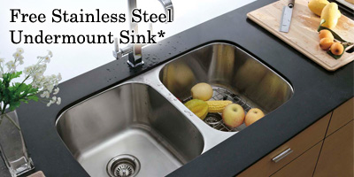 Free Undermount Sink